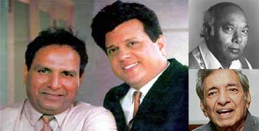 Shankar-Jaikishen, Ali Akbar Khan and Ravi