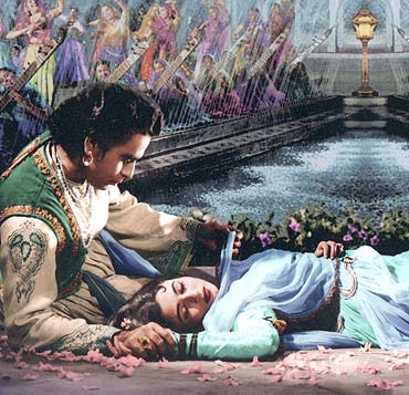 A scene from Mughal-e-Azam