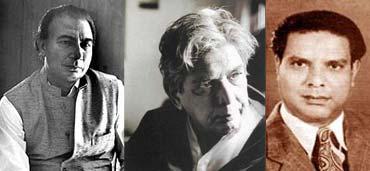 Shahir Ludhianvi, Kaifi Azmi, Shakeel Badayuni