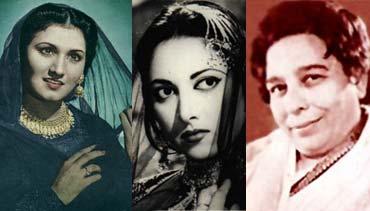 Noor Jahan, Suraiyya, Shamshad Begum