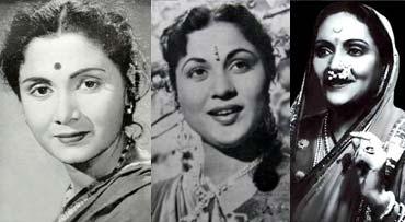 Sulochana, Nirupa Roy, Durga Khote