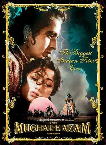 A poster of Mughal-e-Azam