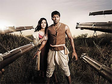 A scene from Madrasapattinam