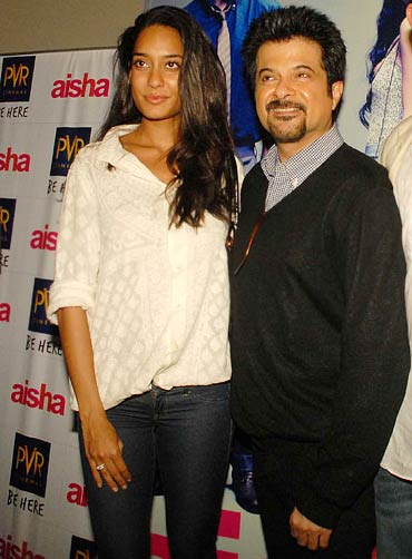 Lisa Haydon and Anil Kapoor