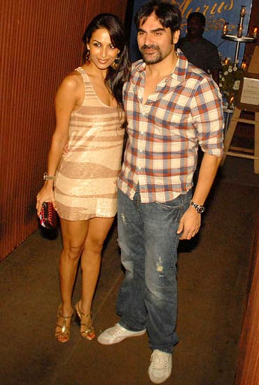 Malaika Arora Khan and Arbaaz Khan
