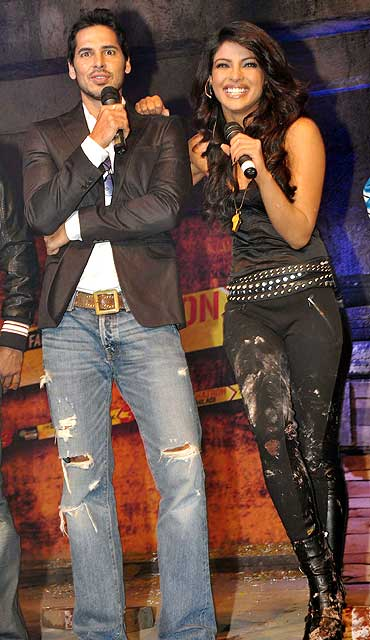 Dino Morea and Priyanka Chopra