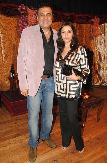 Boman Irani and Lilette Dubey