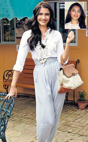 Sonam Kapoor, inset Pernia Qureshi