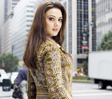 Preity Zinta in Kabhi Alvida Naa Kehna