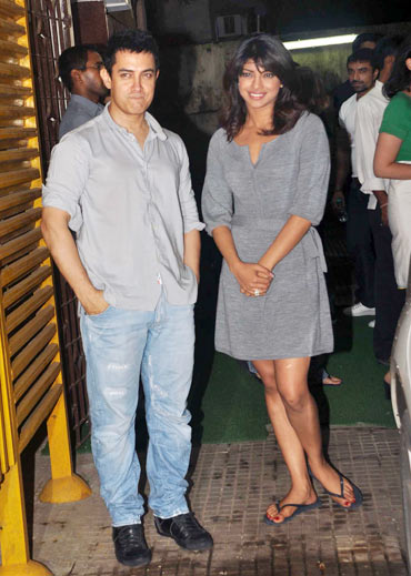 Aamir Khan and Priyanka Chopra