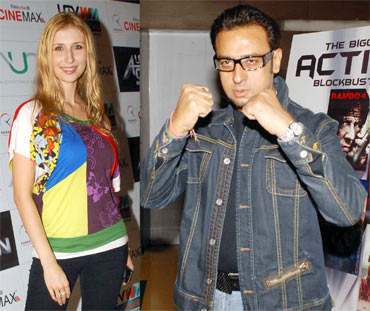 Claudia Ciesla and Gulshan Grover
