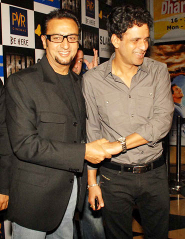 Gulshan Grover and Manoj Bajpai