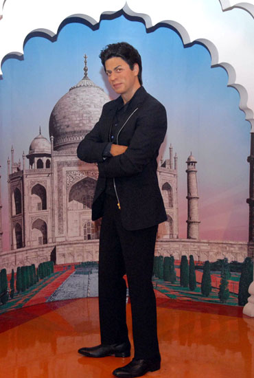 The wax figure of Shah Rukh Khan