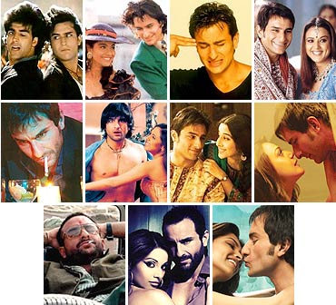 Scenes from Saif Ali Khan's movies