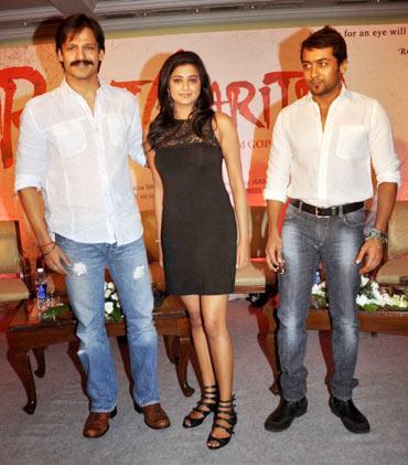 Vivek Oberoi, Priyamani and Surya