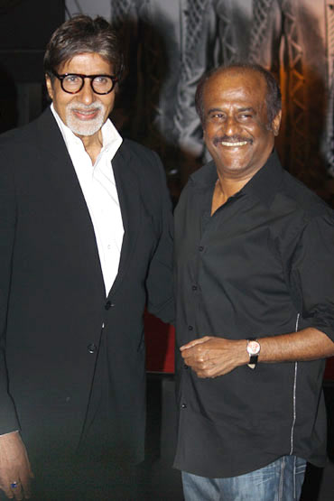 Amitabh Bachchan and Rajnikanth