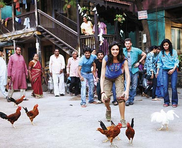 A scene from Lafangey Parindey