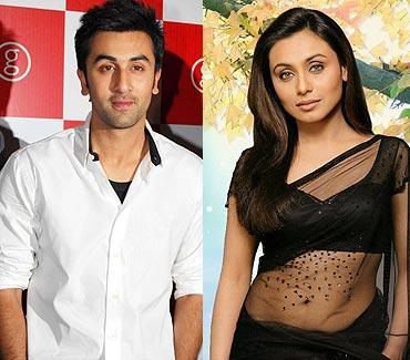 Ranbir Kapoor-Rani Mukerji