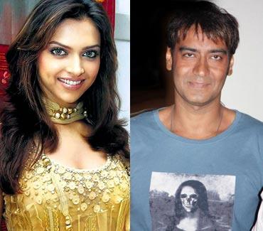 Deepika Padukone-Ajay Devgn