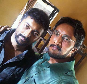 Surya and Sudeep
