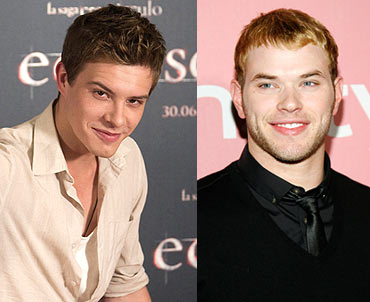 Xavier Samuel and Kellan Lutz