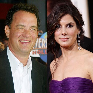 Tom Hanks and Sandra Bullock