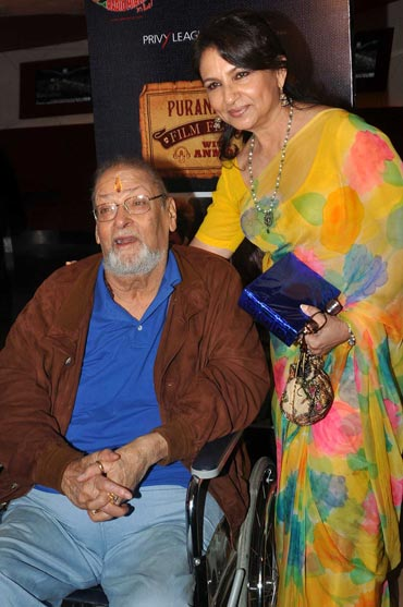 Shammi Kapoor and Sharmila Tagore