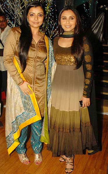 Choreographer Vaibhavi Merchant and Rani Mukerji
