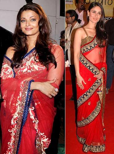 Aishwarya Rai Bachchan and Kareena Kapoor