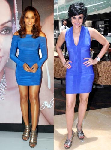 Bipasha Basu and Mandira Bedi