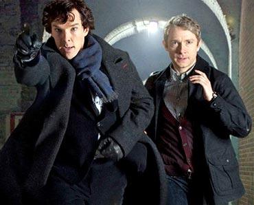 A scene from Sherlock Holmes