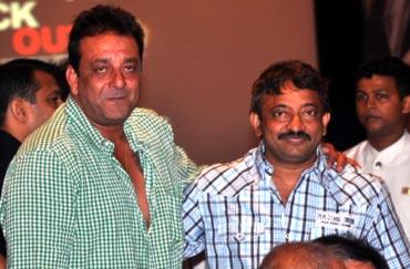 Sanjay Dutt and Ram Gopal Varma