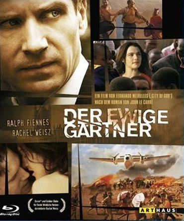 A poster of The Constant Gardener