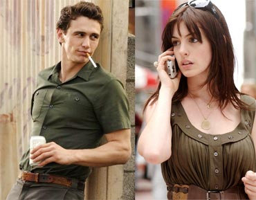 James Franco in An American Crime, and Anne Hathaway in The Devil Wears Prada