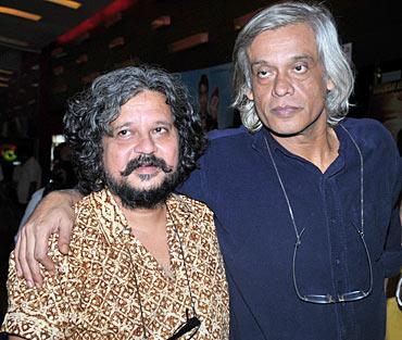 Amole Gupte and Sudhir Mishra