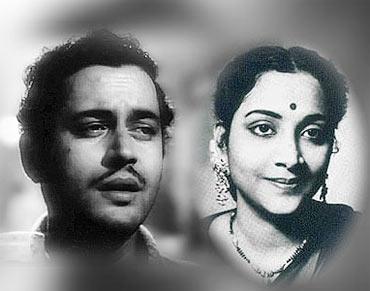 Guru Dutt and Geeta Dutt