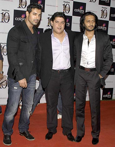 John Abraham, Sajid Khan and Riteish Deshmukh