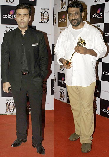 Karan Johar and Anurag Basu