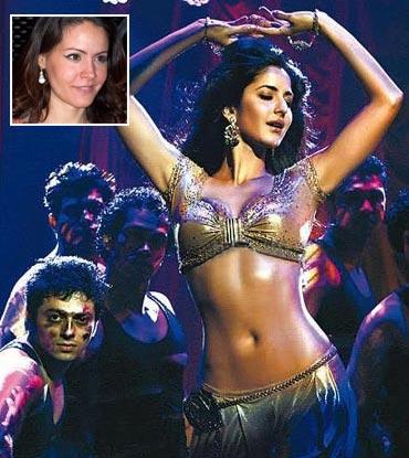 Katrina Kaif in Tees Maar Khan. Inset: Veronica D'Souza