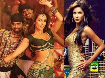 Malaika Arora Khan in Dabangg and Katrina Kaif in Tees Maar Khan