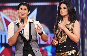 Vishal Malhotra and Mona Singh