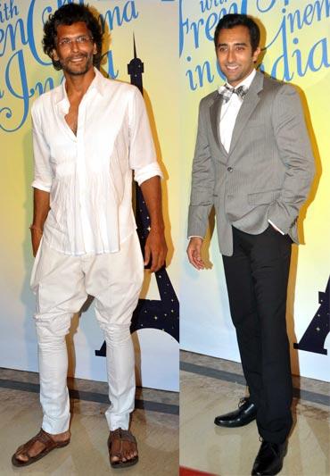 Milind Soman and Rahul Khanna