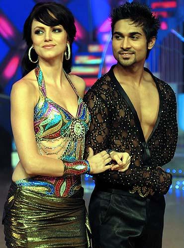 Yana Gupta and Salman Khan