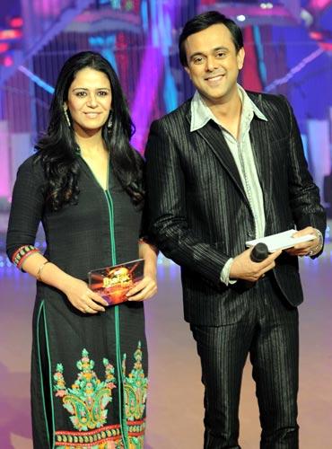 Mona Singh and Sumeet Raghavan