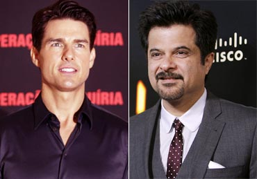 Tom Cruise and Anil Kapoor