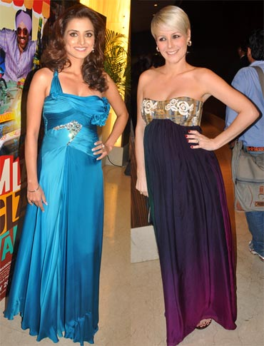 Kulraj Randhawa and Emma Brown