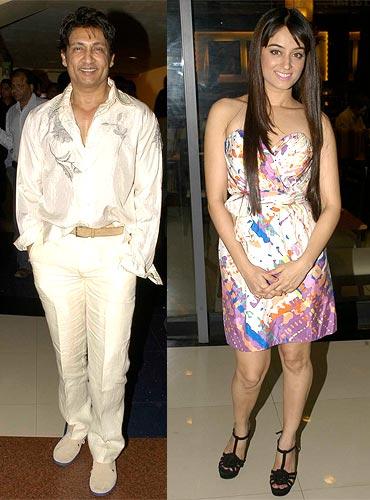 Shekhar Suman and Mahi Vij