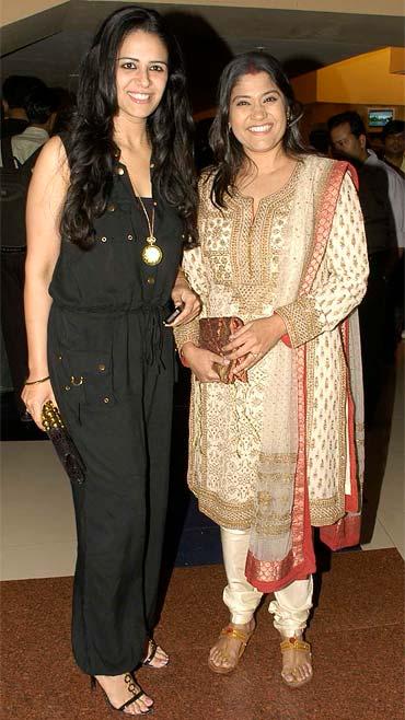 Mona Singh and Renuka Shahane