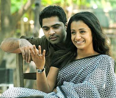 A scene from Vinnaithandi Varuvaya