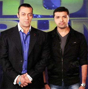 Salman Khan and Himesh Reshammiya